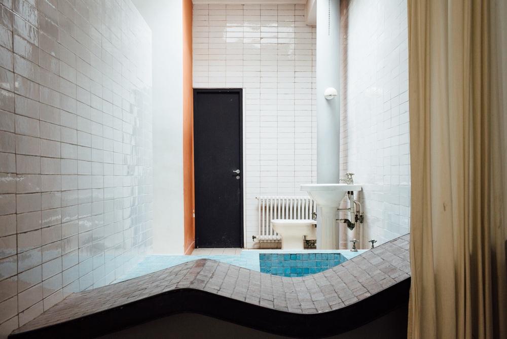La salle de bain de la Villa Savoye