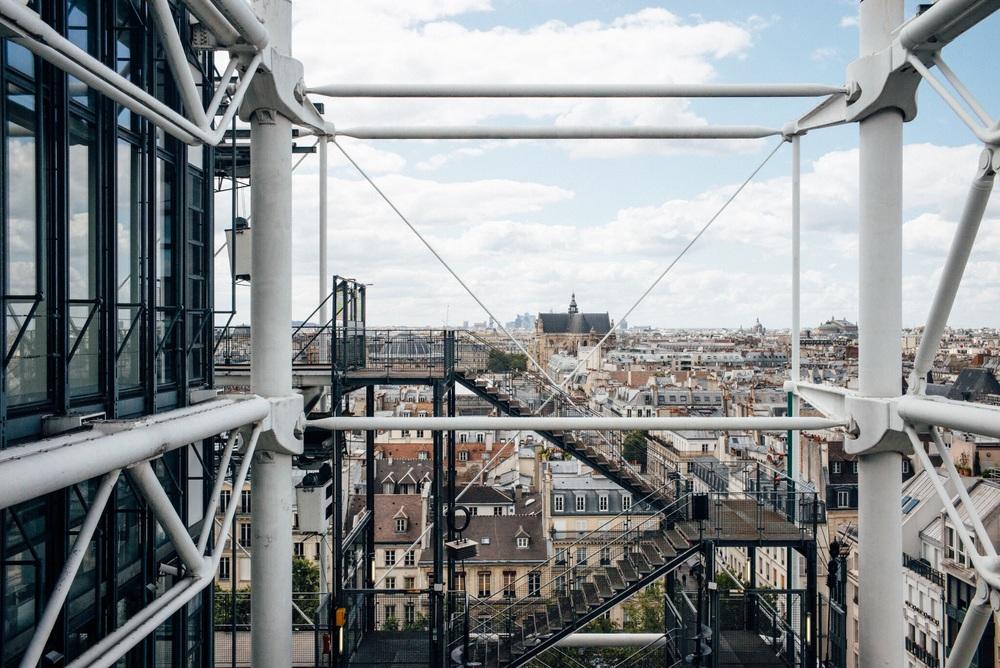 Du 6ème étage du Centre Georges-Pompidou