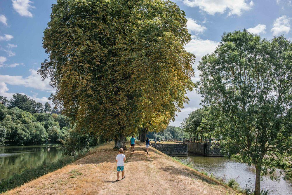 A Ménil, près de Château-Gontier