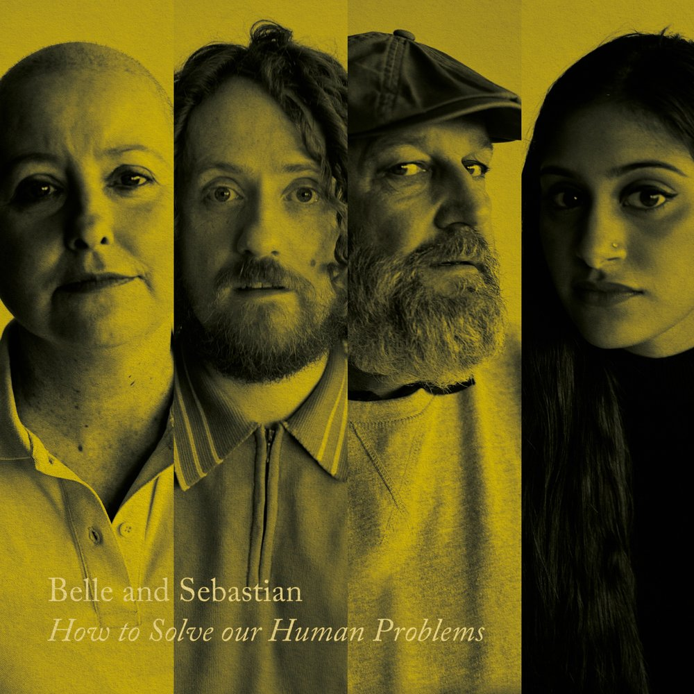 Des fans du groupe photographiés par Stuart Murdoch lui-même illustrent les trois pochettes de « How To Solve Our Human Problems ».