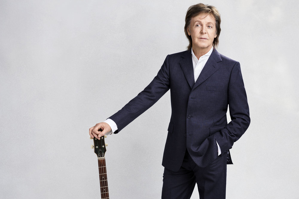 Sir Paul McCartney, 76 ans, éternellement jeune. Photo Mary McCARTNEY