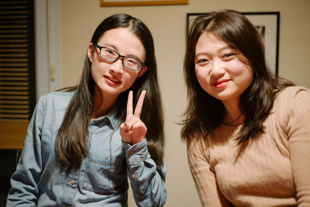 Tongcan est chinoise, de Yuxi (sud).  Shua est coréenne, de Jeon Ju.