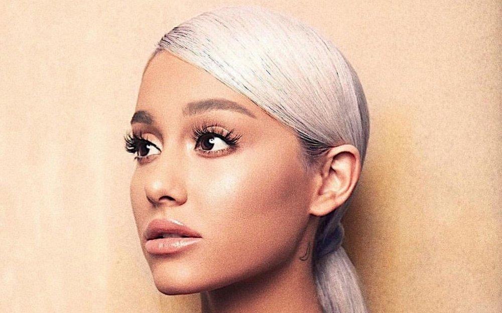 Ariana Grande, à l'endroit sur la pochette de « Sweetener ». Photo Universal Music