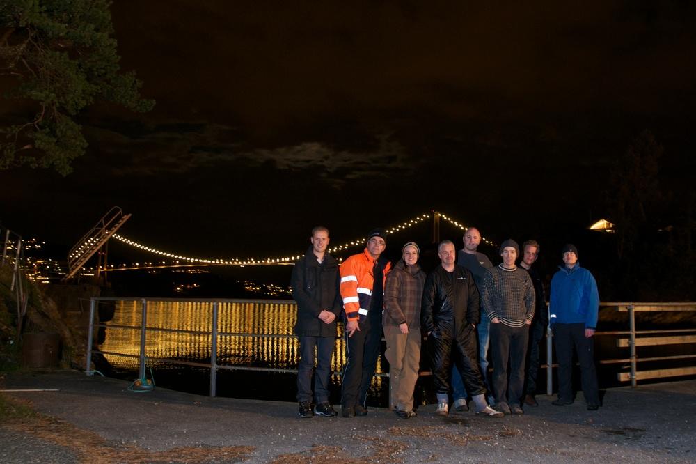 Gjengen fra Diversnight 2011