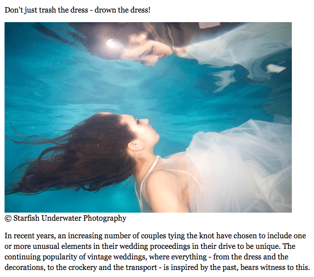 Underwater Brides