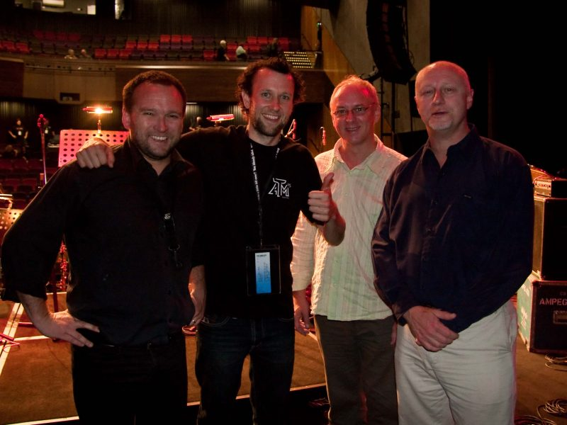 2009 Winner Andrew Murray with JMO Artistic Director David Theak and NBBCC judges Evan Lohning and Dave Panichi