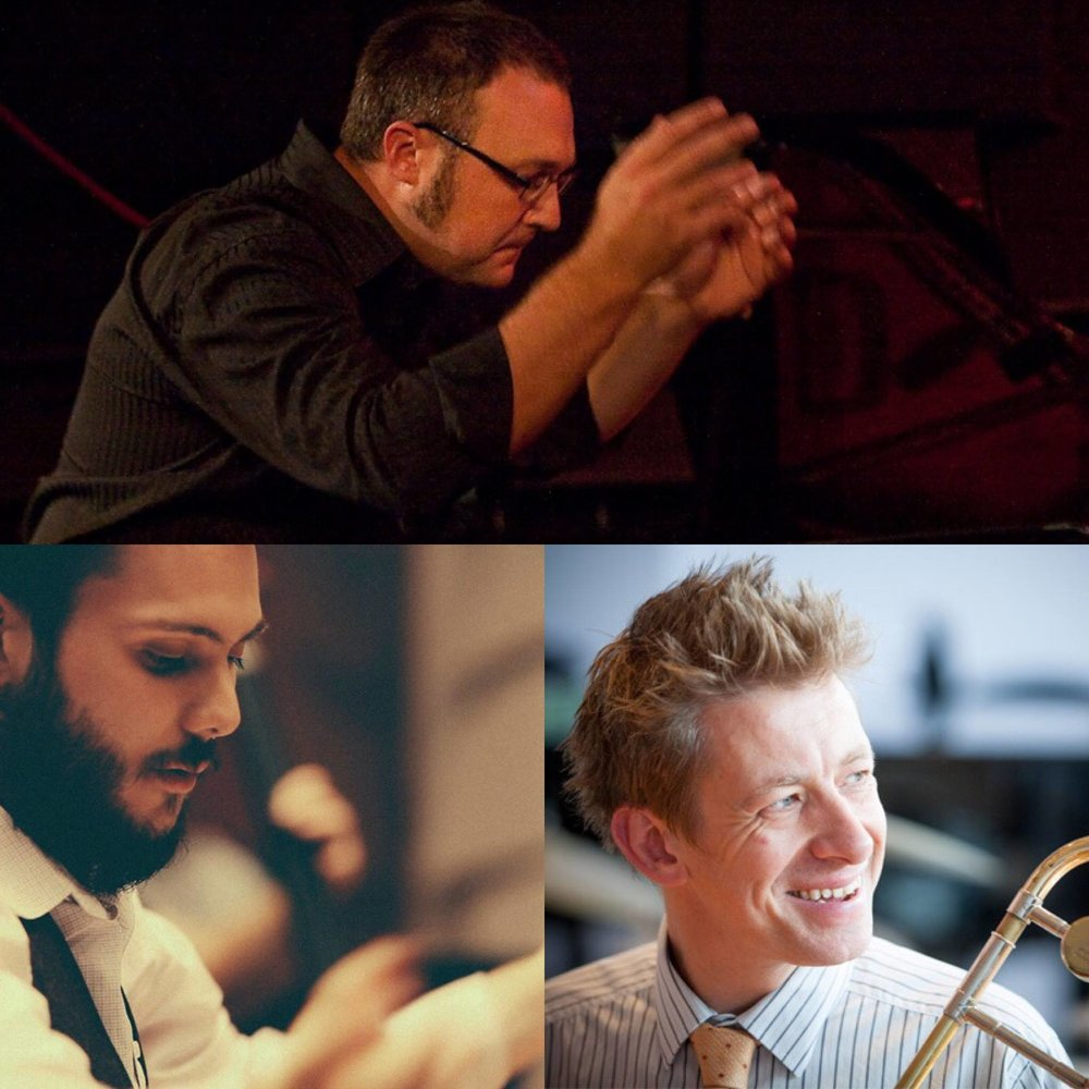 Nick, James and Kelly will rehearse and conduct the JMO on Sept 15 at Foundry 616, Sydney. The concert will be recorded and broadcast by ABC Jazz on Thursday Sept 22, at 9pm.