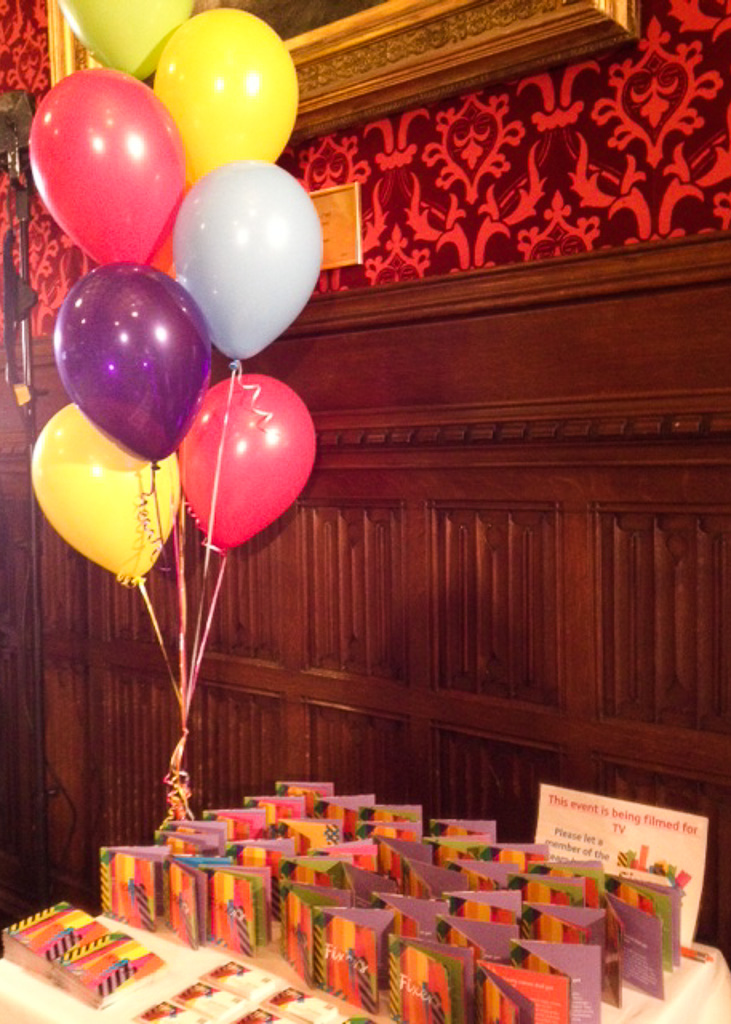 Launch event for Fixers UK at The House of Commons