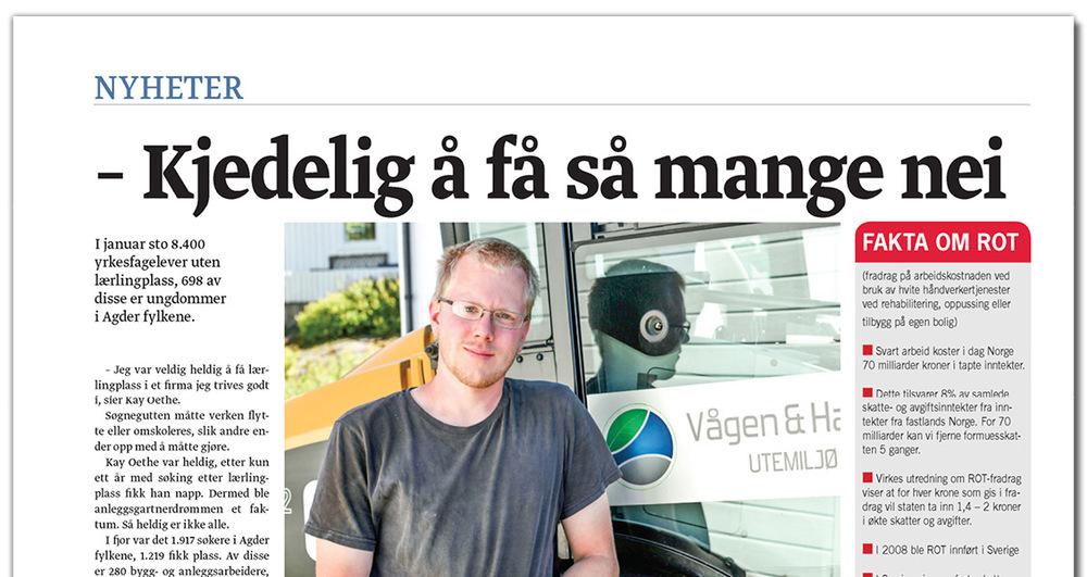 Vågen & Hansen Utemiljø AS Budstikka