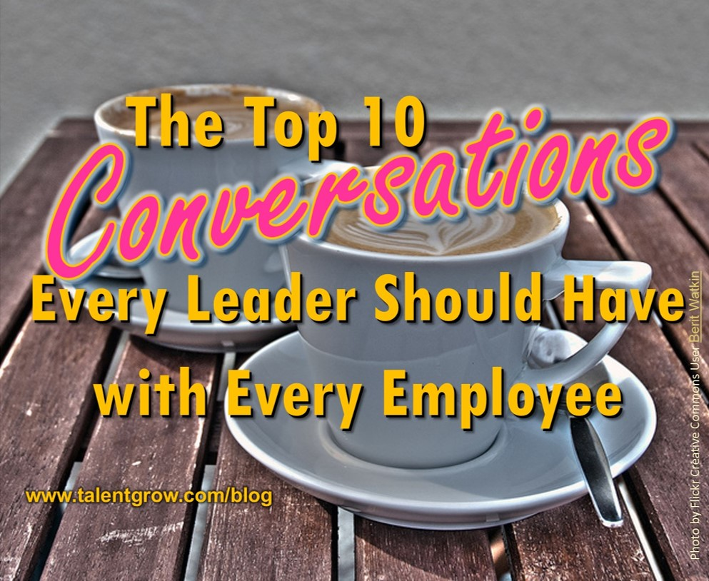 Top 10 Conversations Every Leader Should Have