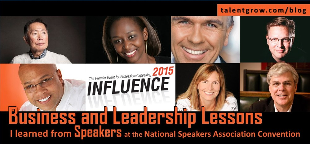 Business and Leadership Lessons from Speakers at the NSA Convention