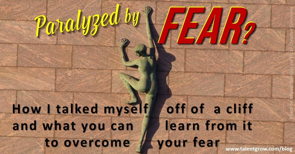 paralyzed by fear TalentGrow blog Halelly Azulay