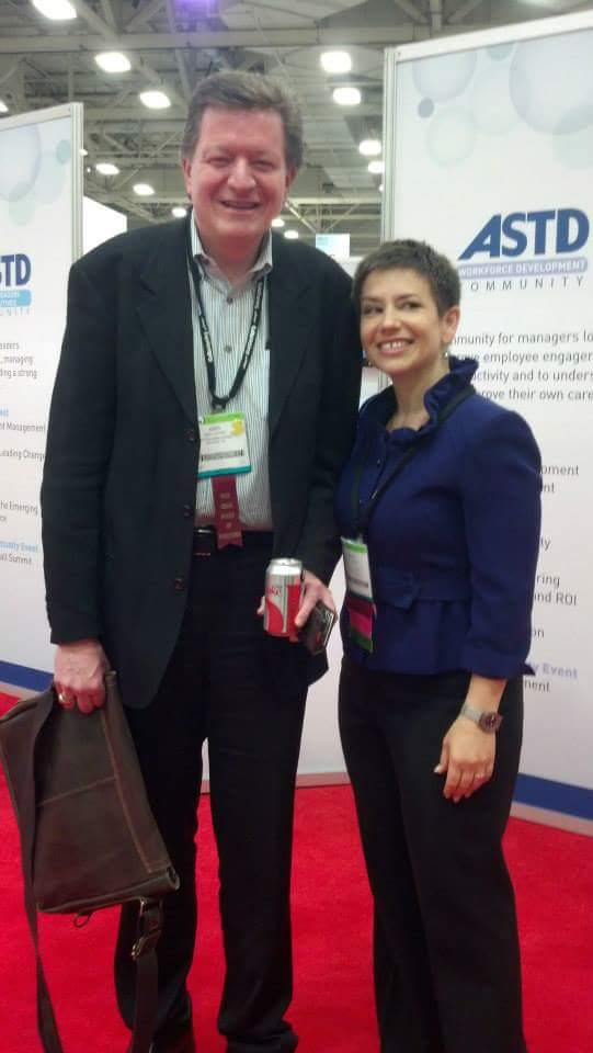 Kimo Kippen and Halelly azulay at one of the annual atd (formerly astd) international conferences