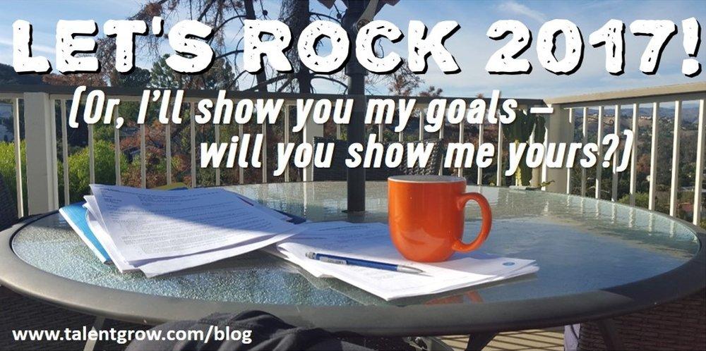 lets rock 2017 goals Halelly Azulay TalentGrow