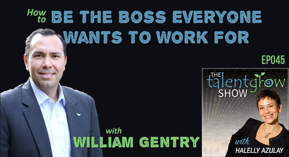"Being a new manager is hard. William Gentry and Halelly Azulay have both experienced it personally, and in this episode, they discuss the insights from that hard hands-on experience as well as lots of research from Bill's work with new leaders and the data from his organization, The Center for Creative Leadership, as well as his new book, Be the Boss Everyone Wants to Work For. You'll discover the areas you should focus your leadership development efforts to make the biggest impact on your ability to succeed in your role and be the boss everyone wants to work for. Learn specific tips for how to manage your former BFFs, how to get your former 'promotion competitors' to support you, the important types of conversations you need to be having with your new staff, pronto, and more. Check it out, subscribe, and share! What you'll learn: What humbling failure changed the course of Bill's career and helped him move from a would-be 'dream job' to a true 'dream job'? What triple perspective does Bill bring to leadership development that uniquely positions him to add value? Staggering statistics about the poor state of new leader success… yikes! What does Bill mean by suggesting new leaders ""flip their script""? And what does it have to do with the 'break up line', ""it's not about you, it's me""? What are the six key areas you should flip your script in (based on research)? What are the four 'make-or-break' skills that Bill suggests everybody says are the essential skills for success, that new leaders should focus on? (Hint: they have nothing to do with knowledge and technical savvy) What makes leadership development stick, specifically for new leaders? What's the ""BFF to Boss"" relationship flip and how does Bill suggest you handle this top challenge for all new leaders around leading former peers? What are the three things that the most effective leaders do, that CCL's research shows and that they call D.A.C.? ""You're not meant to be a mind-reader. Ask!"" Why does Halelly mention her blog and podcast about the 10 most important conversations? What are the types of conversations all new leaders need to have so that everybody is on the same page? What should you do when you learn that somebody else really wanted the promotion that you ended up getting? (Plus a caution about how long it might take to succeed) What is exciting at the end of each chapter that is Bill's attempt to get around the terrible statistic of 60% of new leaders getting no training at all? What else is Bill developing to help you in 'snackable bites' to give you more opportunities to develop your leadership skills and really shine? What is one action Bill suggests you take to increase your leadership effectiveness based on a true story about ""Jack""? It will be impactful when you follow this advice! Resources Bill's site, book, CCL Williamgentryleads.com ccl.org @lead_better on Twitter Halelly's 10 Convos Leader Member Exchange Theory His professor/mentor: Kuhnert Steve Nowicki About William Gentry, PhD William A. (Bill) Gentry Ph.D. is currently the Director of Leadership Insights and Analytics and a Senior Research Scientist at the Center for Creative Leadership (CCL). He is also an adjunct assistant professor in the Psychology department at Guilford College and an associate member of the graduate faculty in the Organizational Sciences doctoral program at the University of North Carolina, Charlotte. Bill has also taught in the Leadership Studies doctoral program at North Carolina A&T State University and in the Business School at Wake Forest University. In 2013, Bill was Elon University's ""Isabella Cannon Leadership Visiting Scholar"" providing lectures and talks about leadership to classes and campus groups. Bill graduated summa cum laude from Emory University in 2000 and received his M.S. in 2002 and his Ph.D. in 2005 in Industrial-Organizational Psychology from the University of Georgia. Before joining to CCL, Bill was an organizational effectiveness specialist at United Parcel Service. In applying his research into practice, Bill's current focus is on helping new leaders who are managing for the first time in their lives, particularly those on the frontlines in entry- and first-level positions in organizations. His research interests are in multisource (360) research, survey development and analysis, leadership and leadership development across cultures, leader character and integrity, mentoring, managerial derailment, multilevel measurement, and in the area of organizational politics and political skill in the workplace. He also studies nonverbal behavior and its application to effective leadership and communication, particularly in political debates. Bill has more than 70 academic presentations and has published more than 40 articles in such journals as the Journal of Applied Psychology, Journal of Organizational Behavior, Journal of Vocational Behavior, Personnel Psychology, Personality and Social Psychology Bulletin, The Leadership Quarterly, Journal of Leadership Studies, and the European Journal of Work and Organizational Psychology. He serves on the editorial review boards of the Journal of Business and Psychology, the Journal of Organizational Behavior and The Leadership Quarterly. Bill has been a contributor to businessweek.com on the nonverbal behaviors of candidates in the 2008 presidential and vice presidential debates and of President Obama's inaugural address. In addition, his research in the areas of political skill and derailment in the workplace, leader character and integrity, and first-time managers have been featured in more than 50 internet and newspaper outlets including Chief Learning Officer, ChiefExecutive.Net, TrainingIndustry.Com, Forbes.com, Harvard Business Review, the Wall Street Journal online At Work, and CNN.com. Aside from his research, Bill also trains CCL's Assessment Certification Workshop and Maximizing your Leadership Potential programs. In 2011, Bill was inducted into the inaugural class of the University of Georgia's 40 under 40, as one of the top 40 graduates of the University of Georgia under the age of 40 to have made an impact in business, leadership, community, educational and/or philanthropic endeavors, demonstrating dedication to the University of Georgia and its mission of teaching, research and service; and representing the very best of UGA graduates. In 2016, Bill's first book, Be the Boss Everyone Wants to Work For: A Guide for New Leaders, was published by Berrett-Koehler Publishers #BeTheBossBook"
