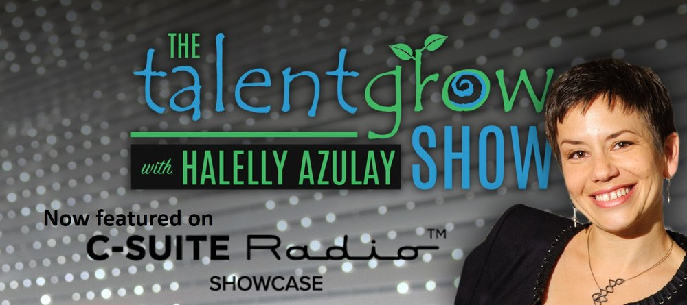 The TalentGrow Show now featured on CSuite Radio