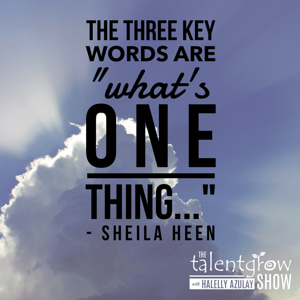 Feedback tips from Dr. Sheila Heen on the TalentGrow Show podcast with Halelly Azulay