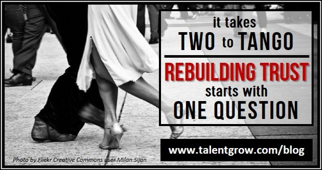 takes two to tango rebuilding trust starts with one question blog by Halelly Azulay TalentGrow