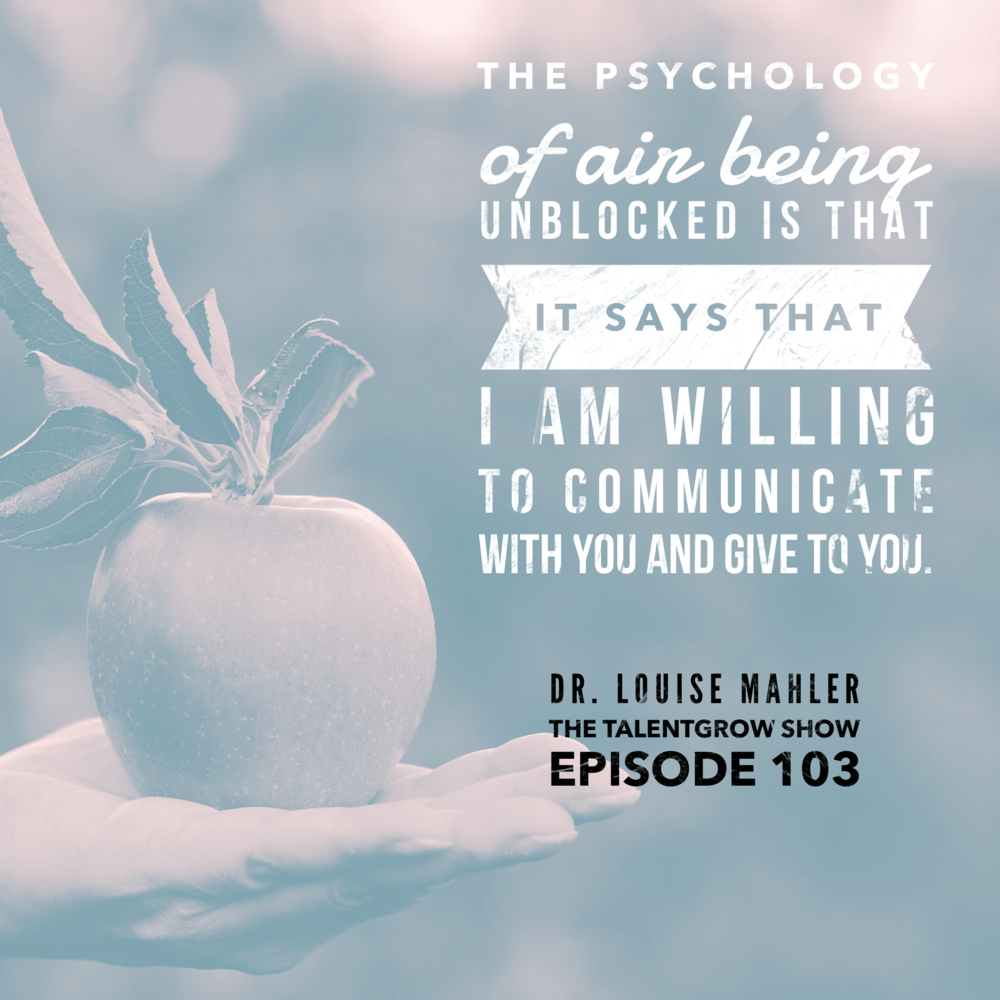 103: Resonate -- How to Use Vocal Intelligence and Body Language as a Leader with Dr. Louise Mahler
