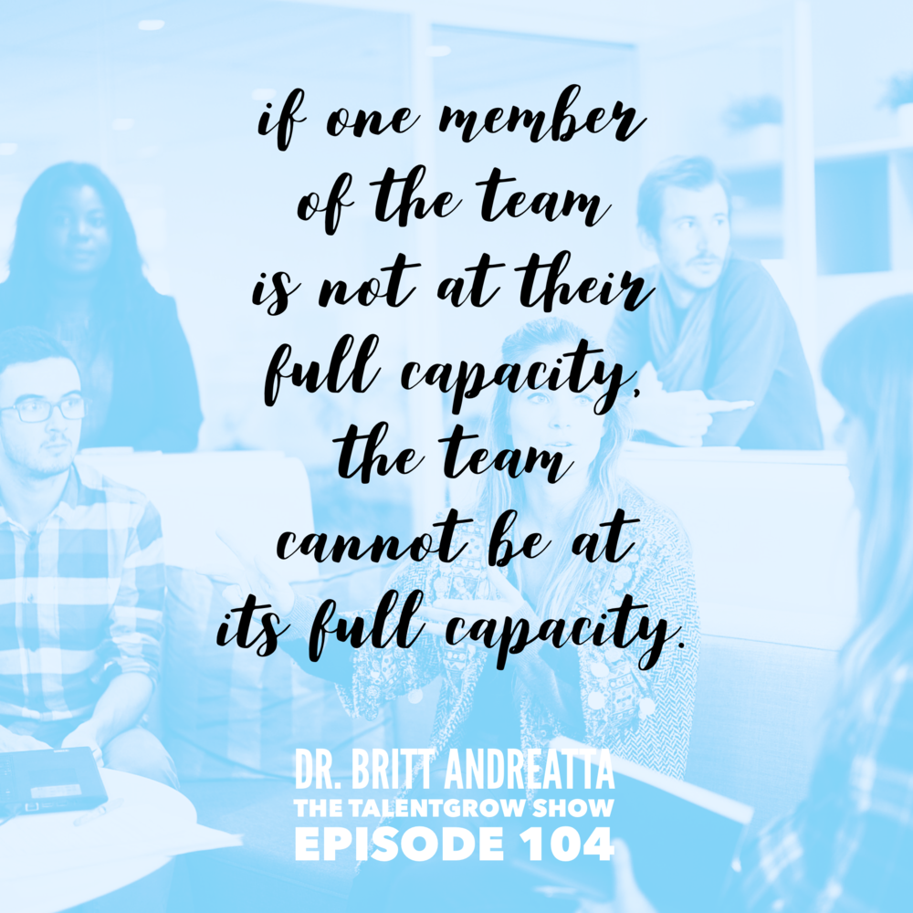 104: Wired to Connect -- The Neuroscience of Team Leadership with Dr. Britt Andreatta