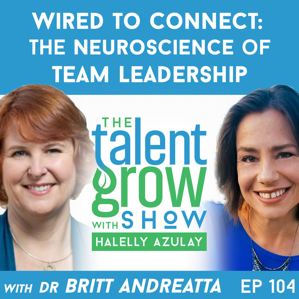 Ep104 Britt Andreatta TalentGrow Show with Halelly Azulay