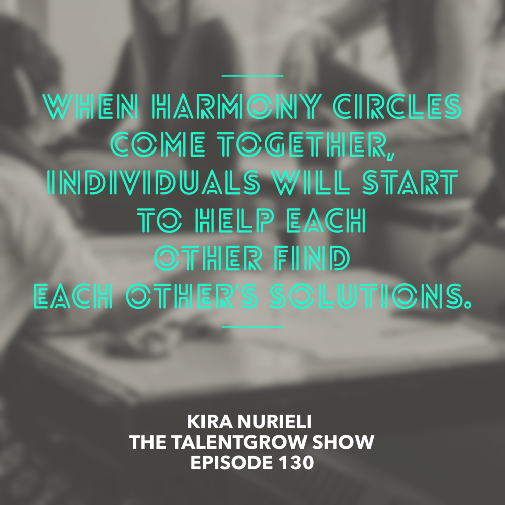 130: Conflict Resolution and Performance Evaluation through Harmony Circles with Psychologist and Mediator Kira Nurieli