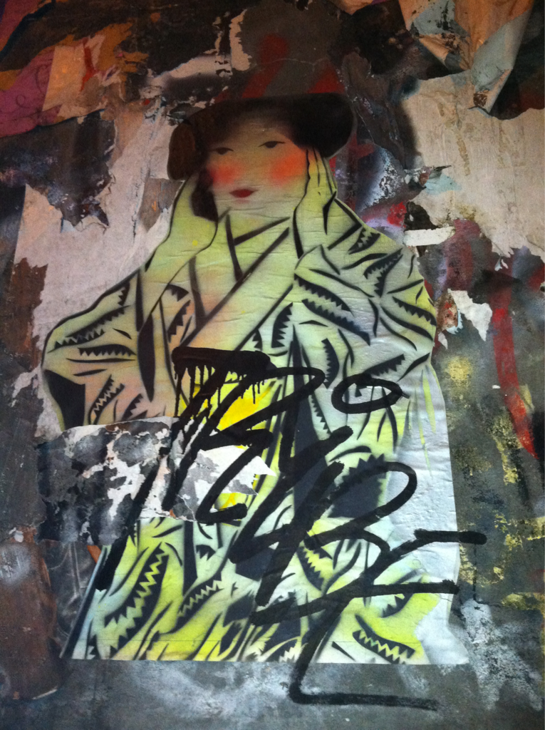 —Prince Street - Japanese street artist…have to find her name