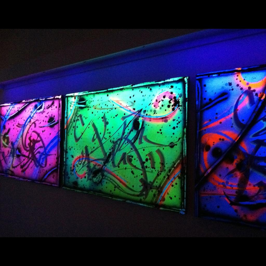 Rammellzee Exhibit at Suzanne Geiss