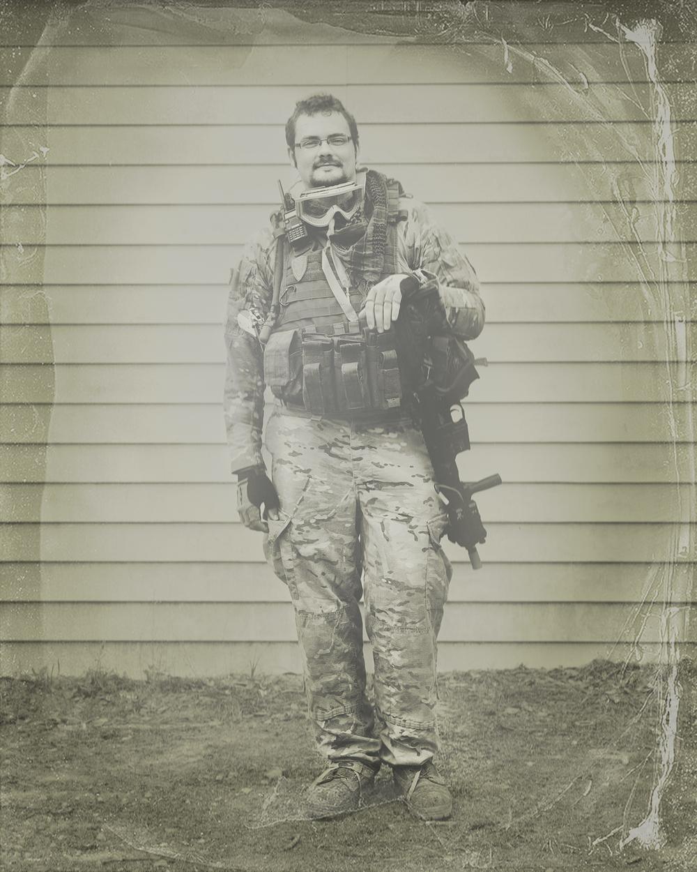 Wetplate Portrait #4