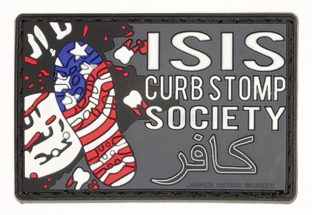 "Isis Curb Stomp Society, 2016, Archival Pigment Print, 22""x32"""