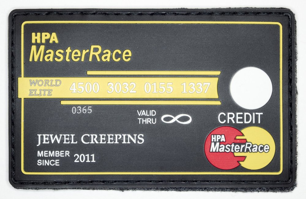 "Master Race, 2016, Archival Pigment Print, 24""x36"""