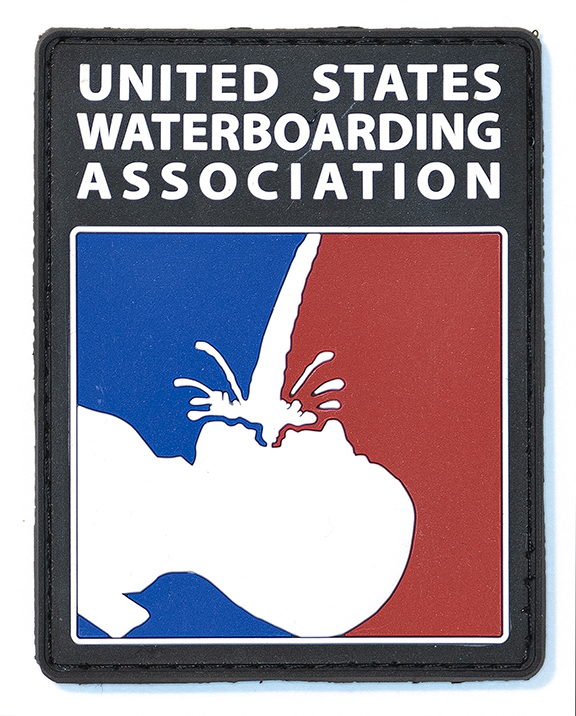 "Waterboarding Association, 2019, Archival Pigment Print, 23"" x 29"""