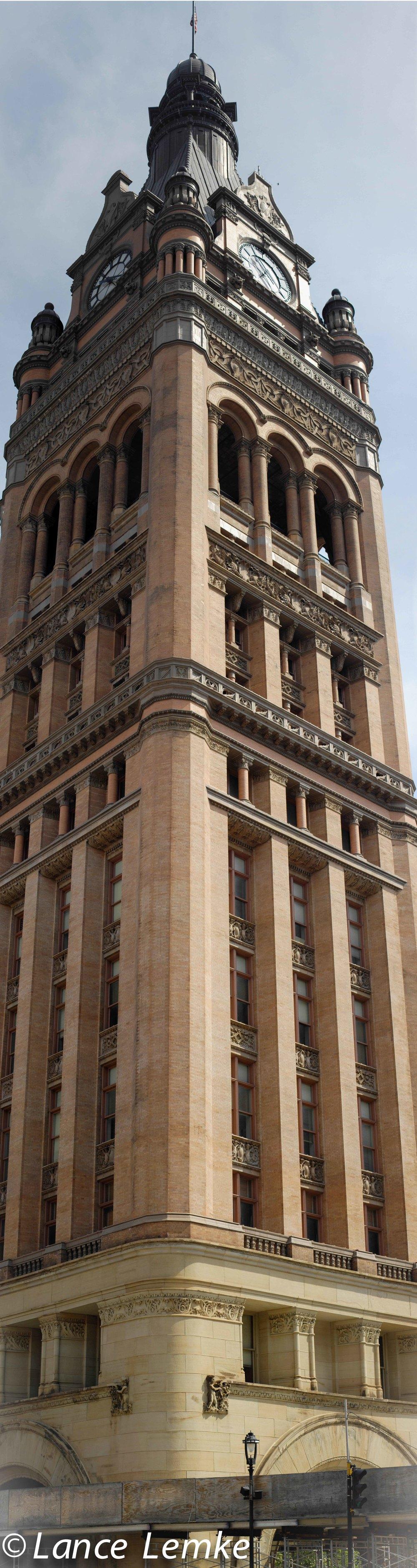 Milwaukee City Hall, Downtown Milwaukee. Build 1895