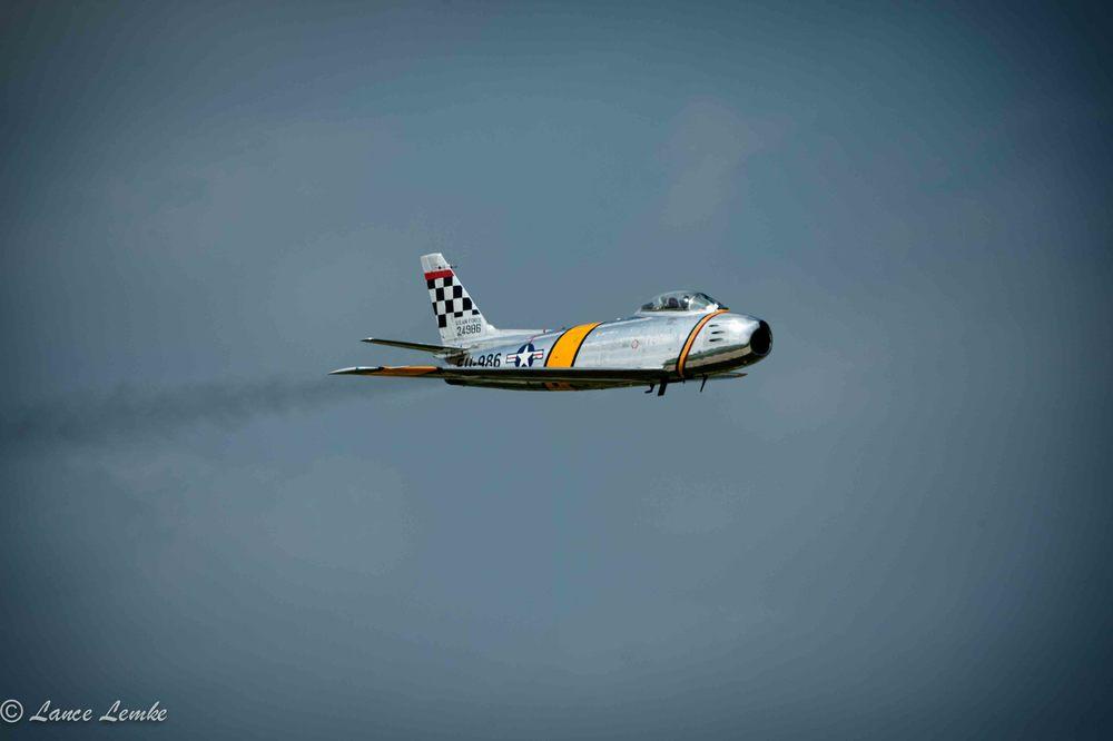 F-86 Sabre, Taken with Nikon D4 andNikonAF-S NIKKOR 80-400mm f/4.5-5.6G ED VR Lens