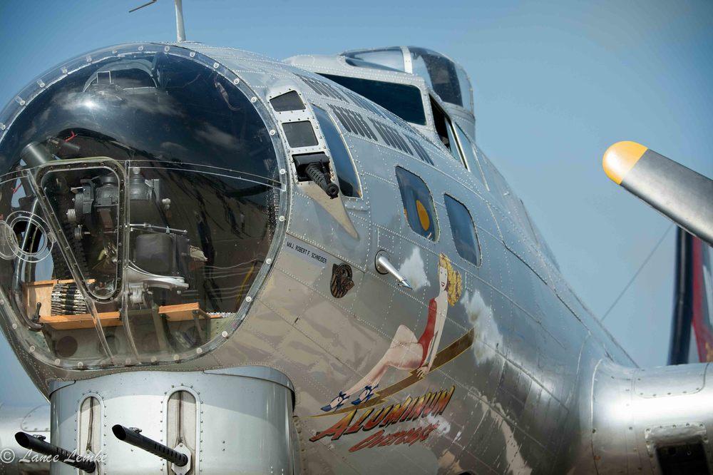 Aluminum Overcast, B-17G Bomber. Taken withNikon D4 andNikonAF-S NIKKOR 80-400mm f/4.5-5.6G ED VR Lens