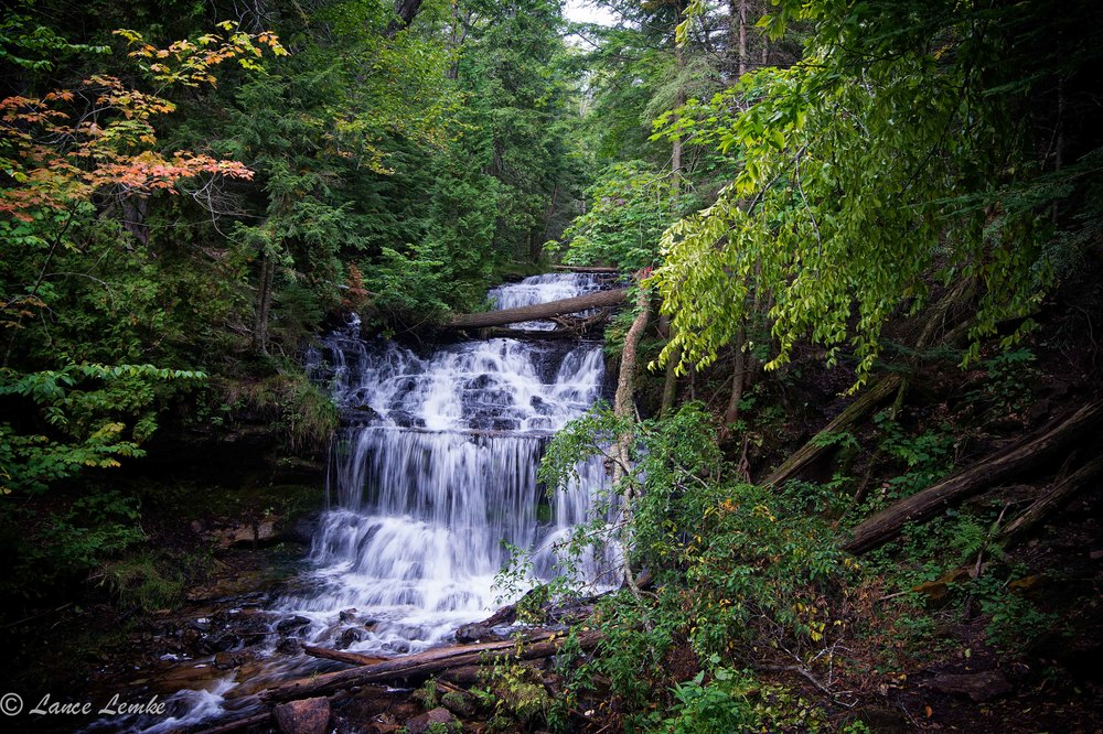 Wagner Falls. Taken with Nikon D4 and Tokina 17-24 2.8.