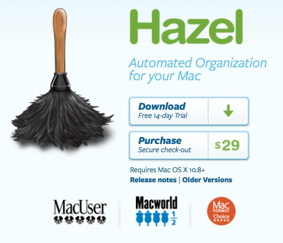 Hazel Application by NoodleSoft