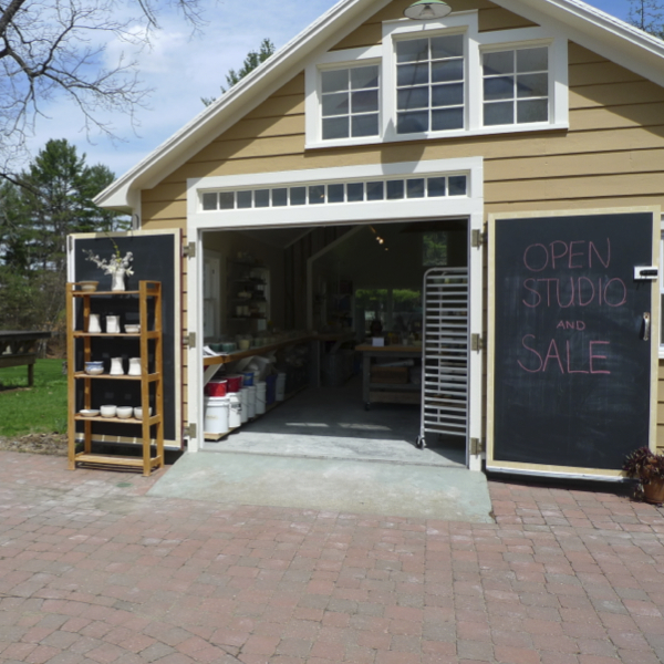 A Carriage House Pottery Studio