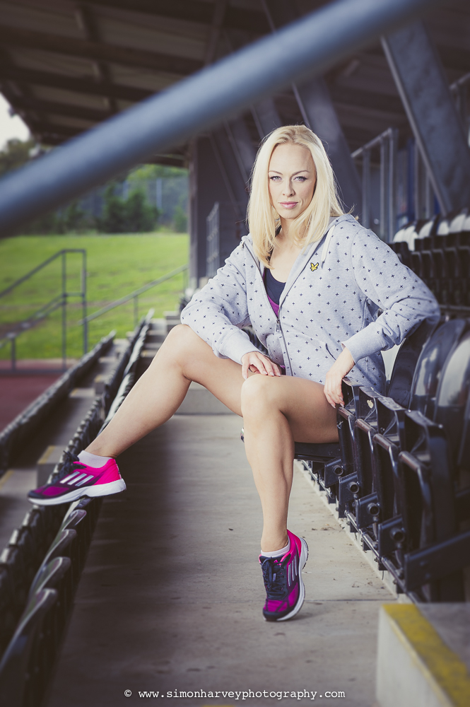 Hayley Steele at Lea Valley Leisure Centre