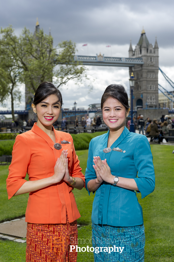 Garuda Indonesia Hostess'