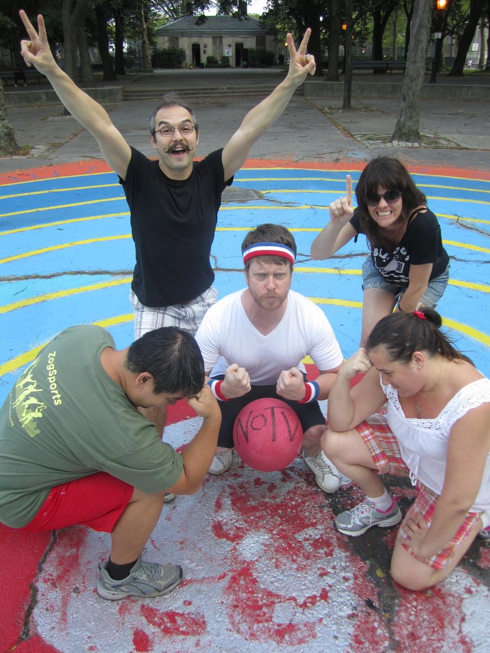 Week 11's Thing - Kick(Ass)Ball