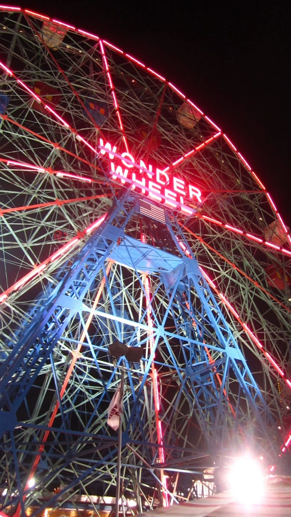 Behold the glory of The Wonder Wheel