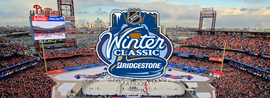 2012 Winter Classic: Citizens Bank Park in Philadelphia