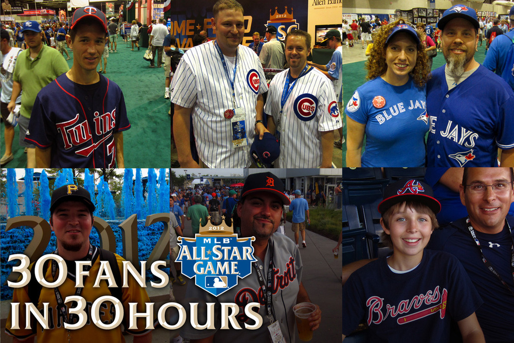 Some of our favorite fans of the 30 Fans in 30 Hours at the 2012 All-Star Game