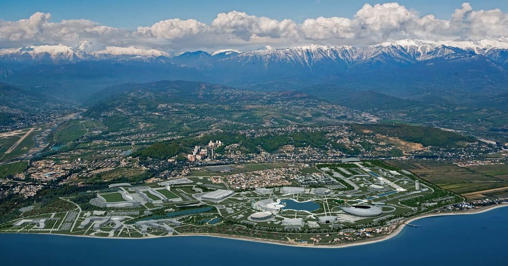 The Olympic site for Sochi 2014. (Photo courtesy of uia-sport.com)