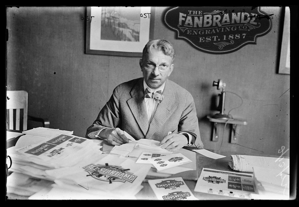 William P. Frederick, Proprietor of 'The Fanbrandz Engraving Company""