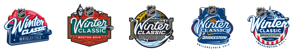 This makes our 5th collaboration on the Winter Classic for NHL.