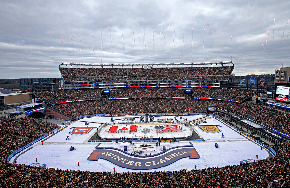 f97be6d8eb2 New England heritage celebrated in the 2016 NHL Winter Classic logo