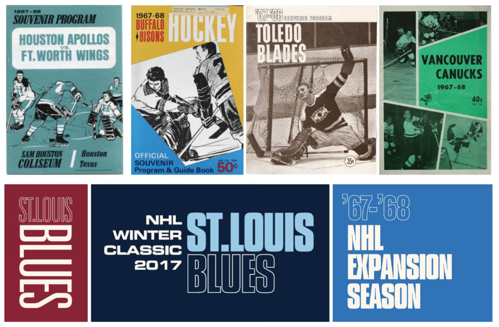 Theme art inspiration based on the 1968 season program covers.