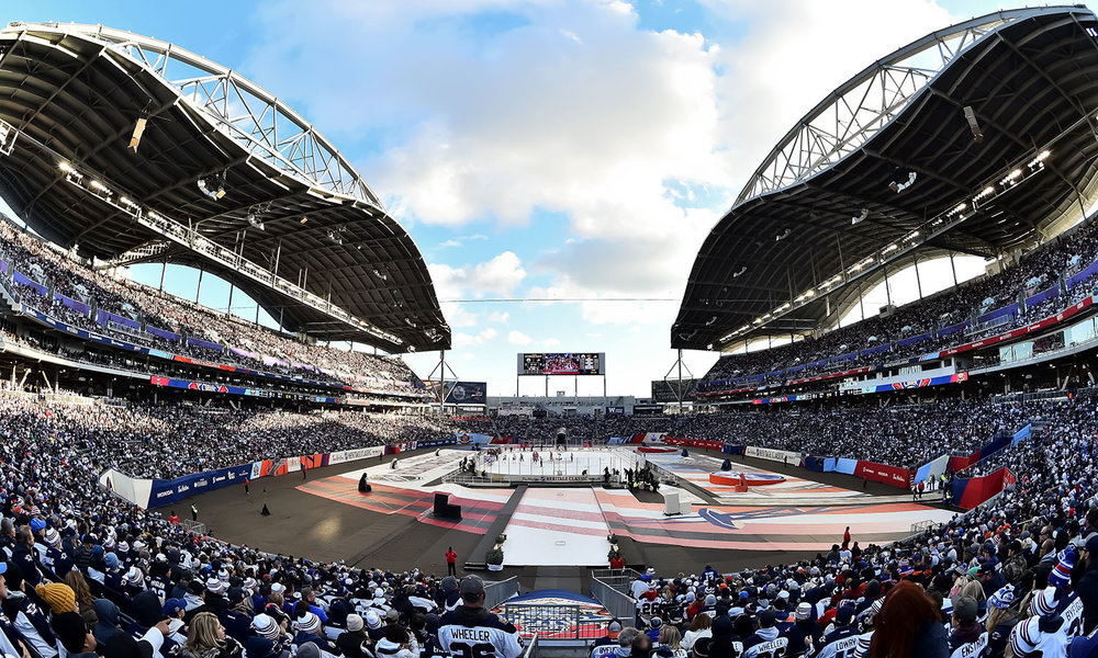 Investors Group Field, Winnipeg, Manitoba.